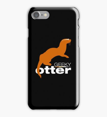 Geeky Otter! iPhone Case/Skin