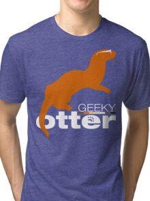 Geeky Otter! Tri-blend T-Shirt