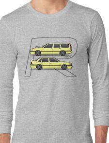 Volvo 850R T5-R Duo Creme Yellow Long Sleeve T-Shirt
