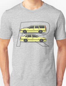 Volvo 850R T5-R Duo Creme Yellow Unisex T-Shirt