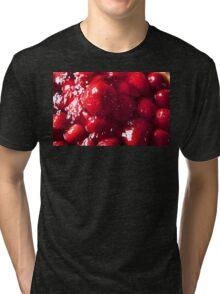 Strawberry Flan. Tri-blend T-Shirt