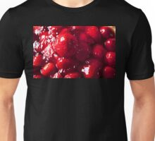 Strawberry Flan. Unisex T-Shirt