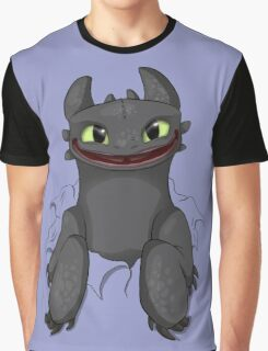 Curious Toothless Graphic T-Shirt
