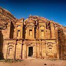 Petra Jordan photograph by WAMTEES