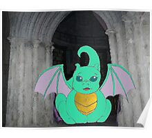 D is for Dragon Poster