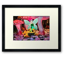 F is for Fairy Framed Print