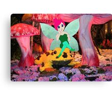 F is for Fairy Canvas Print