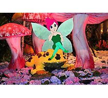 F is for Fairy Photographic Print