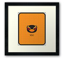 HOPPER ANIMAL CROSSING Framed Print