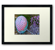 The Missing Pink Rugby Ball Framed Print