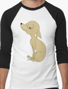 I love my Chihuahua Men's Baseball ¾ T-Shirt
