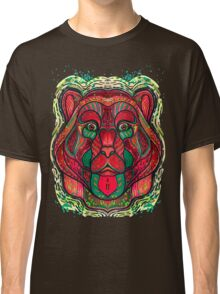 Psychedelic bear Classic T-Shirt