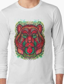 Psychedelic bear Long Sleeve T-Shirt