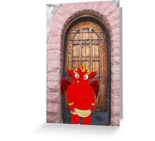 I is for Imp Greeting Card