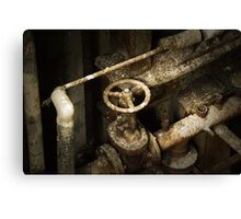 Factory Valve Canvas Print