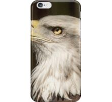 eagle portrait iPhone Case/Skin