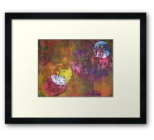 Cosmic Energies 5 by Heather Holland  Framed Print