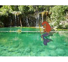 M is for Mermaid Photographic Print