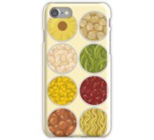 Canned food iPhone Case/Skin