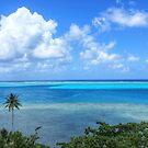 French Polynesia seascape by WAMTEES