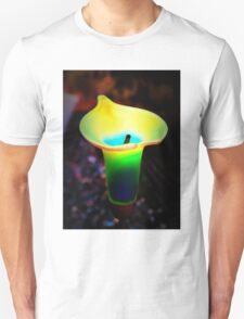 Abstract Calla Lily Unisex T-Shirt