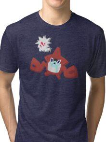 """Hey, kid! Gentle on the goods, okay?"" Tri-blend T-Shirt"
