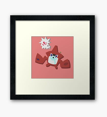 """Hey, kid! Gentle on the goods, okay?"" Framed Print"