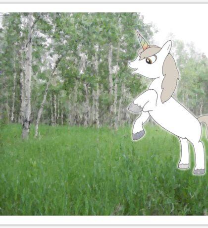 U is for Unicorn Sticker