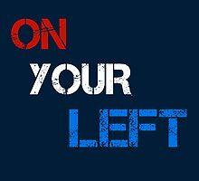 On Your Left by Gallifreya