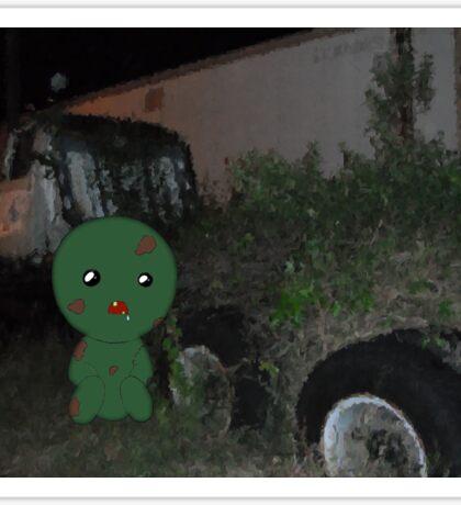 Z is for Zombie Sticker