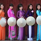 The 5 Ao Dai's... by johnmoulds