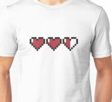 GAMING LOOSING LIVES HEARTS  Unisex T-Shirt