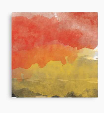 Water Color  Canvas Print