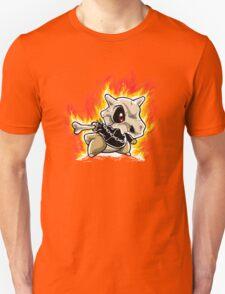 Cubone on fire T-Shirt