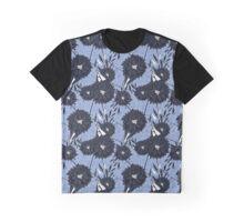 Garden Blue Graphic T-Shirt