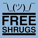 Free Shrugs  by fishbiscuit