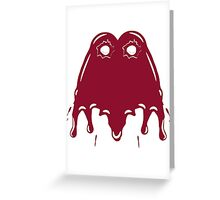 bullet patch dab dab Greeting Card