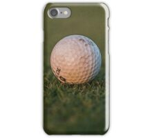 The Golf Ball iPhone Case/Skin