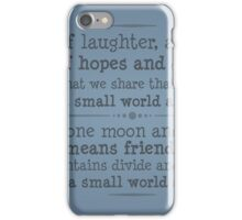 A World of Laughter iPhone Case/Skin