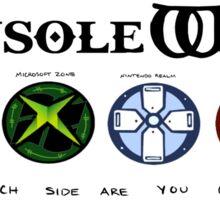 Gaming Console Wars. Sticker