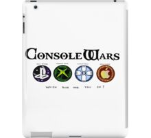 Gaming Console Wars. iPad Case/Skin