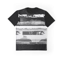 Glitched Exposure Graphic T-Shirt