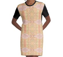 Crystals Graphic T-Shirt Dress
