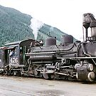 Locomotives of the Old American West  by Adrian Paul