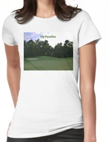 Golf Paradise Womens Fitted T-Shirt