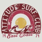 ATTITUDE SURF CLUB by mojokumanovo