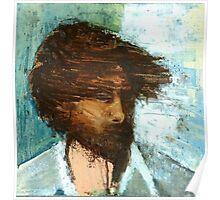 Thom Yorke of Radiohead Portrait / Painting Poster