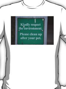 Pet Sign T-Shirt
