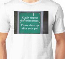 Pet Sign Unisex T-Shirt
