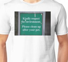 Pet Sign Unisex T-Shirt
